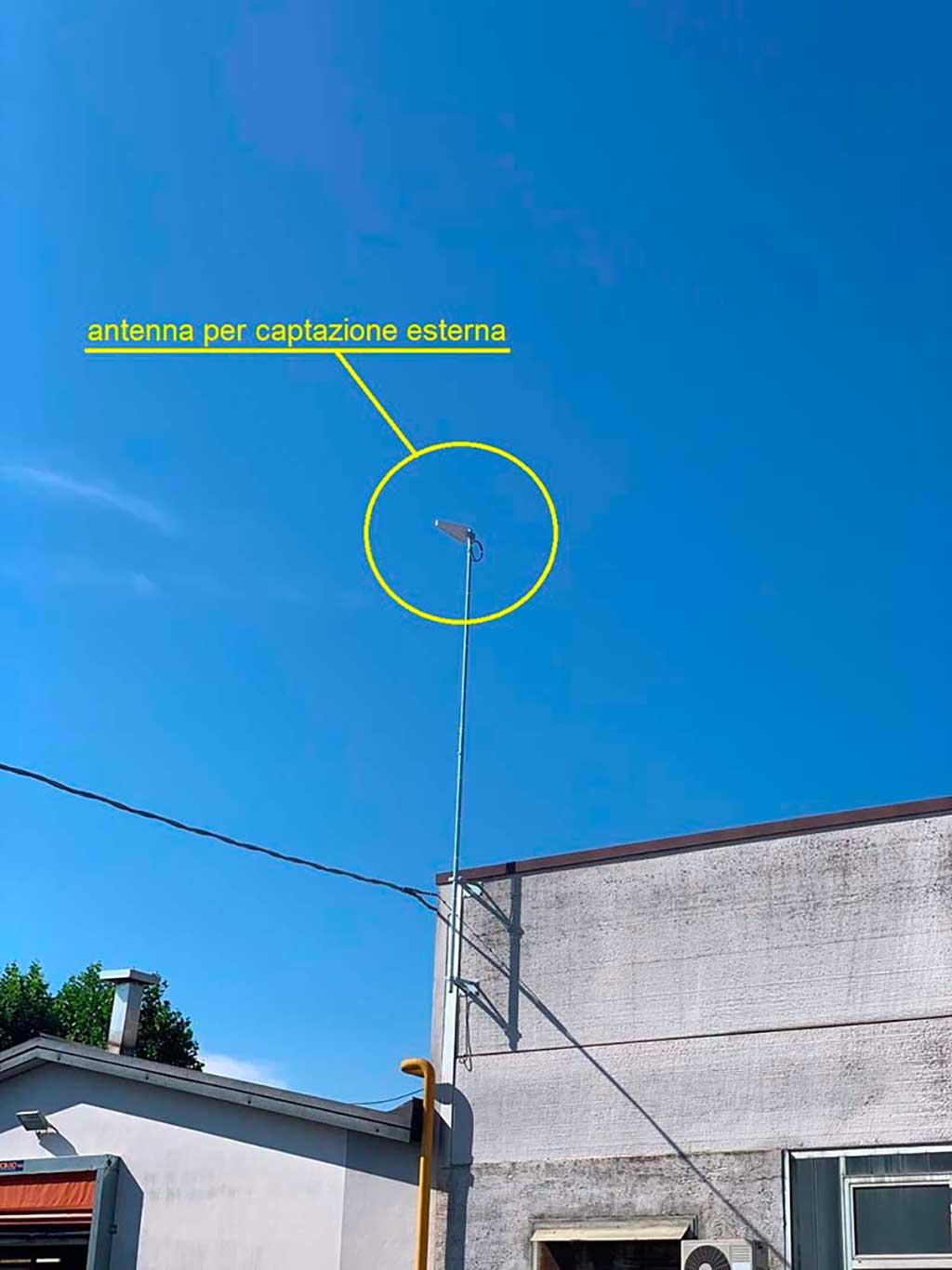 Antenna Esterna Segnale BTS | SITIP TELECOMUNICAZIONI