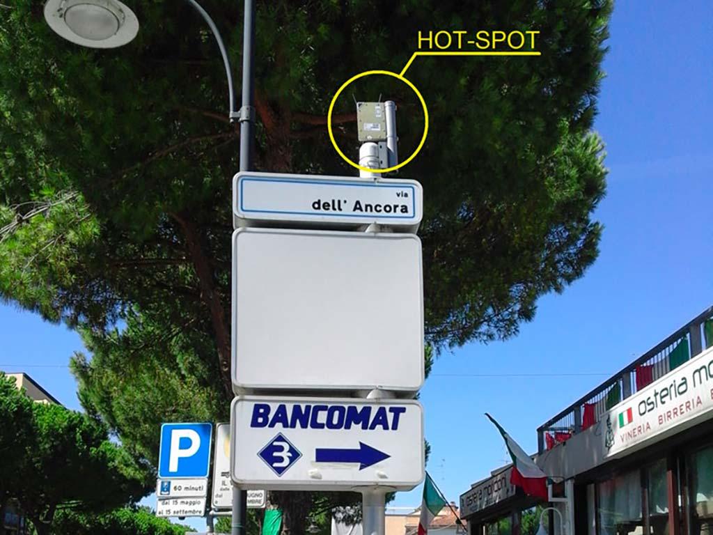 Hot Spot Wifi | SITIP TELECOMUNICAZIONI