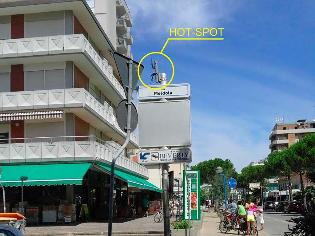 Hot Spot Wireless Installato | SITIP TELECOMUNICAZIONI